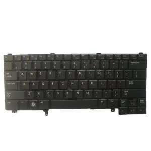 L.F. New Black Non backlit keyboard for Dell Latitude NSK