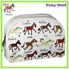 Tyrrell Katz Ponies, large make up bag items in horse gifts store on