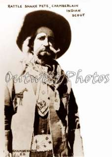 1874 1946 COWBOY RATTLESNAKE PETE BUFFALO BILL WILD WEST SHOW PHOTO