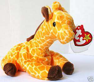Twigs The Giraffe Ty Beanie Baby RETIRED Cute Baby Toy