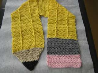 Crochet Pencil Scarf ? Quick And Easy Crochet