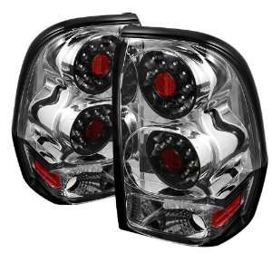 2007 2008 2009 Chevy Trail Blazer LED Tail Lights   Chrome Automotive