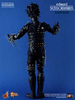 HOT TOYS EDWARD SCISSORHANDS Johnny Depp Figure MISB