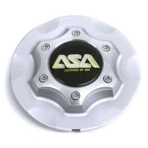 Asa By Bbs Silver Wheel Style Rs2 Center Cap #8b622