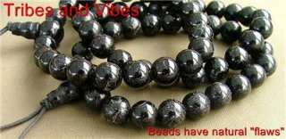 Healing BLACK TOURMALINE Crystal Power Beads Bracelet Jewellery wrist