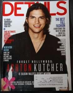 Details Magazine   September 2011   Ashton Kutcher
