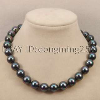 BEST BUY 14MM SHELL WHITE BLACK YELLOW PEARL NECKLACE 18,19, 20, 21
