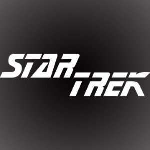 STAR TREK DECAL STICKER 7X2 Automotive