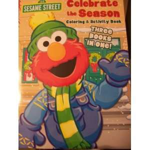 Page Coloring & Activity Book ~ Celebrate the Season (2011) Toys