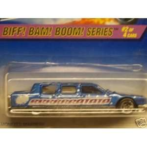 Mattel Hot Wheels 1997 164 Scale Biff Bam Boom Series Limozeen Die