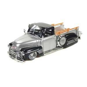 1951 Chevy Pickup Truck LowRider 2 Tone 1/24 Silver/Black