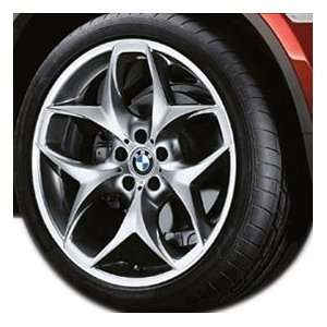 BMW OEM X6 Wheel & Tire Package 21 Style 215 Ferric Gray