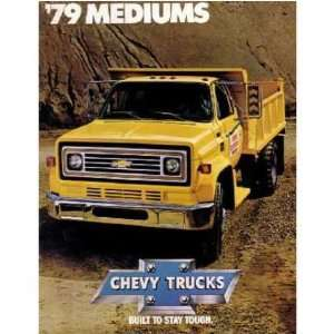 1979 CHEVROLET MEDIUM DUTY TRUCK Sales Brochure Book: Automotive