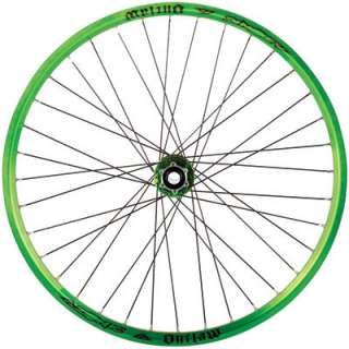 Azonic Outlaw 26 Mountain Bike Wheel Sets Rim ANODIZED Green