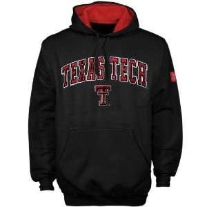 Texas Tech Red Raiders Black Team Color Hoody Sweatshirt