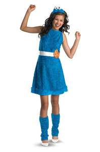 Sesame Street Cookie Monster Plush Tween Costume