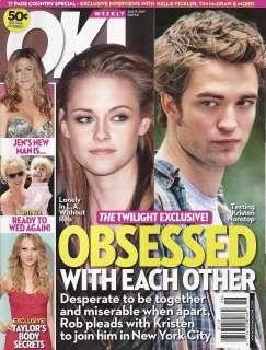 Robert Pattinson, Britney Spears, Taylor Swift June 29 2009 OK
