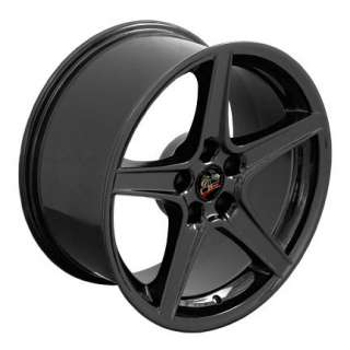 18 Rim Fits Mustang® Saleen Wheel Black 18x9