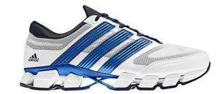 New Mens Adidas Sport TITAN HYPERMOTION Shoes White Blue Running