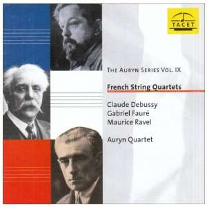 Series Vol. 9 (French String Quartets) Debussy, Faure, Ravel Music