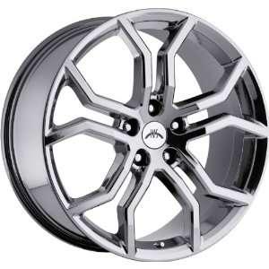 Havoc 5x120 +35mm Phantom Chrome Wheels Rims Inch 20 Automotive