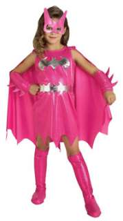 Toddler Girls Pink Batgirl Costume   Batgirl Costumes