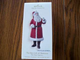 Hallmark ornament Polar Express The First Christmas Gift 2008. NIB.