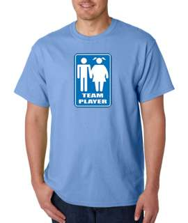 Team Player Funny Fat Girl 100% Cotton Tee Shirt