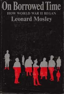 World War II Began by Leonard Mosley 1969 HC BCE 9780297178156