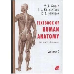 Anatomiya cheloveka. V 2 t. T. 2 = Anatomy of human. In 2 vol. Vol. 2
