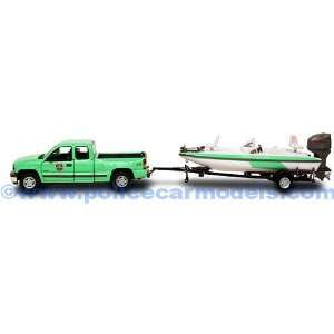 Gearbox 1/43 US Forest Service Pickup & Boat Set Toys