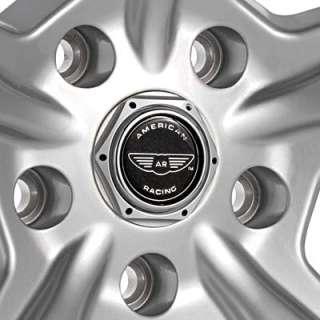 American Racing Razor Silver w/Machined Lip