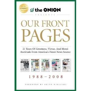 from Americas Finest News Source (Onion Presents)  Scribner  Books