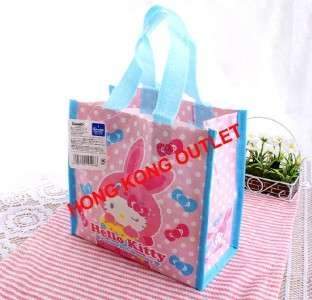 Hello Kitty Bento Lunch Box Bag Shopping Hand Bag Sanrio H10a