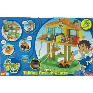 Fisher Price Diegos Talking Rescue Center New MISB