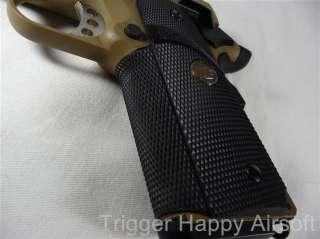 TSD WE Colt 1911 FULL METAL Desert Tan Tactical Gas Pistol 6mm Handgun