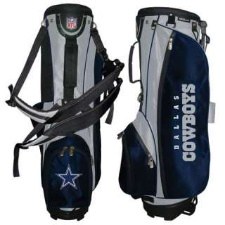 Wilson Dallas Cowboys NFL Carry / Stand Golf Bag New 883813404650