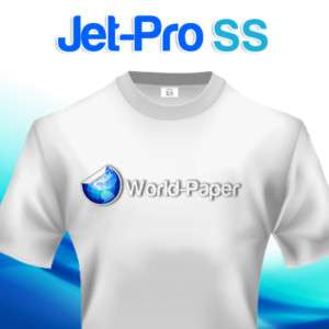 IRON ON TRANSFER PAPER / JET PRO SofStretch 250 SHEETS