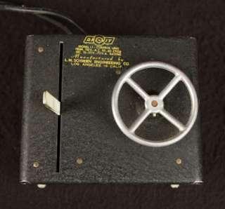 VINTAGE DRI VIT EARLY REMOTE CONTROL PRESSED STEEL TRUCK OLD 110V