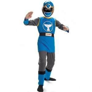 Power Ranger Blue Costume Child Medium 7 10 Toys & Games