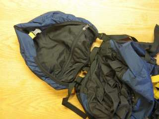 NORTH FACE USA FULL SIZE INTERNAL FRAME BACKPACK  Detachable Lid