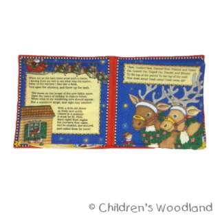 MARY ENGELBREIT CHRISTMAS CLOTH/SOFT BOOK KIDS GIFT