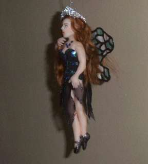 OOAK Laura Fairy Princess Original Art Ornament Sculpture Biel