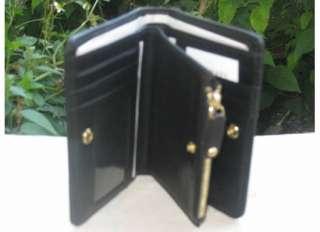 NEW Michael Kors Black Big Valley Bifold Wallet NWT