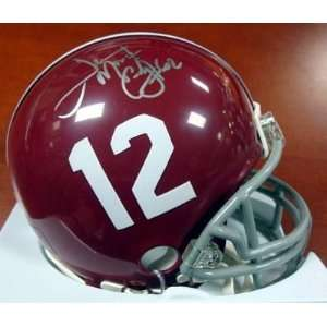 Terrence Cody Autographed/Hand Signed Alabama Mini Helmet