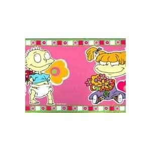 Nickelodeon Rugrats For Girls   Wallpaper Border: Home & Kitchen