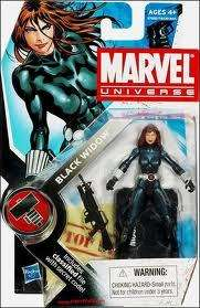 Marvel Universe Black Widow Red Hair