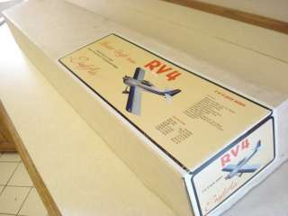 CRAFT AIR RV4 RADIO CONTROL MODEL AIRPLANE KIT **
