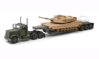 Freightliner LowBoy Carrier Military M1A1 Tank 1/32 New