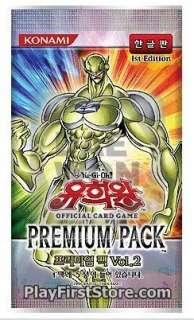 YUGIOH CARDS PP02   PREMIUM PACK VOL 2 BOOSTER BOX KOREAN